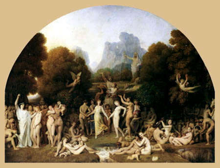 Jean-Auguste-Dominique Ingres - Das Goldene Zeitalter