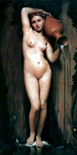 Jean-Auguste-Dominique Ingres - The Font