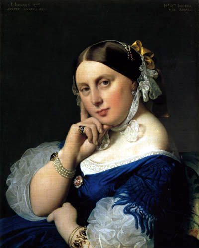 Jean-Auguste-Dominique Ingres - Delphine Ingres