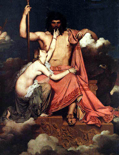 Jean-Auguste-Dominique Ingres - Jupiter und Thetis