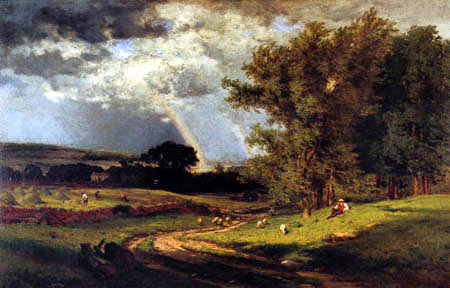 George Innes - A Passing Shower
