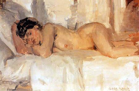 Isaac Israëls - Liegende Nude