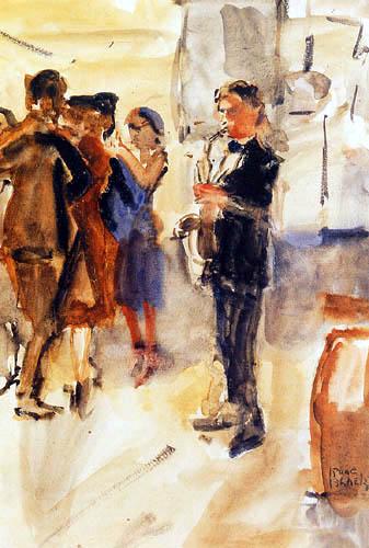 Isaac Israëls - El Saxofón