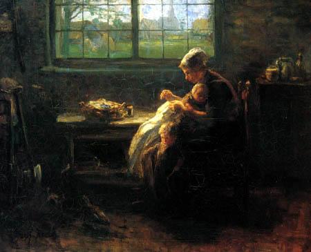 Jozef Israëls - Mutterfreude