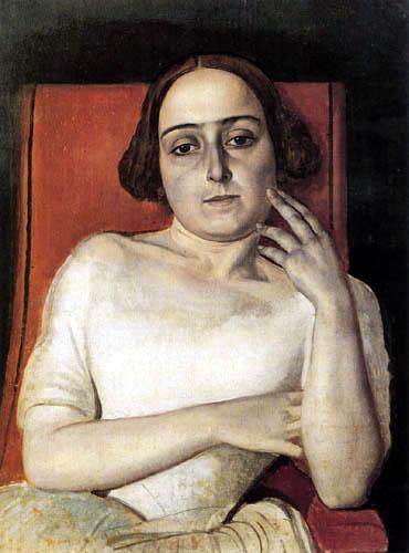Alexander Andrejewitsch (Andreievich) Iwanow (Ivanov) - Portrait of Vittoria Marini