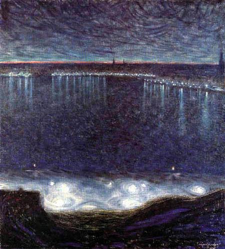 Eugène Jansson - Riddarfiärden in Stockholm