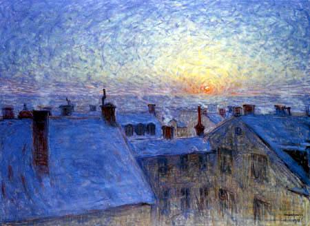 Eugène Jansson - Sunrise, Stockholm