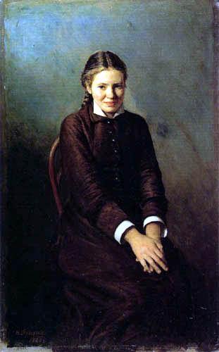 Nikolai (Nikolaj) Alexandrowitsch Jaroschenko - Die Studentin