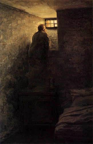 Nikolai (Nikolaj) Alexandrowitsch Jaroschenko - Der Gefangene