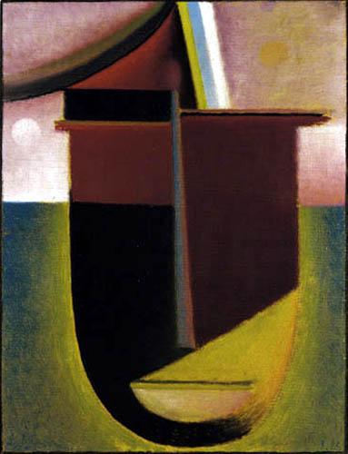 Alexej Georgewitsch Javlenski - Abstrakter Kopf: Licht und Finsternis