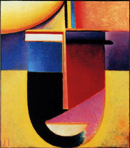 Alexej Georgewitsch Javlenski - Abstrakter Kopf: Sonne Farbe Leben