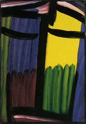 Alexej Georgewitsch Javlenski - Grosse Meditation: Johannes der Täufer
