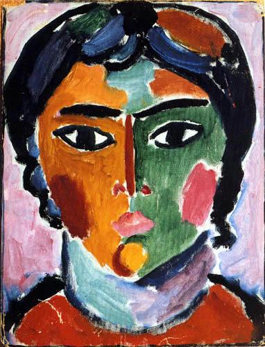 Alexej Georgewitsch Javlenski - Head of a girl