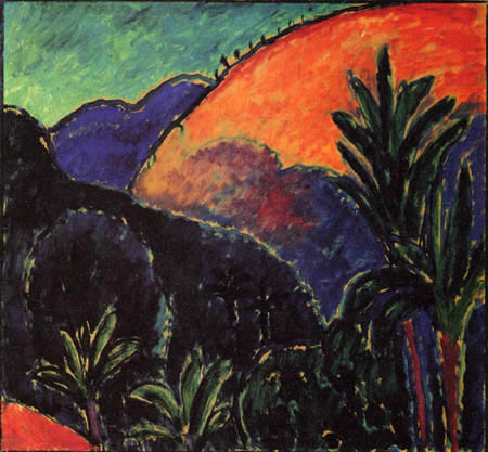 Alexej von Jawlensky - Berge und Palmen
