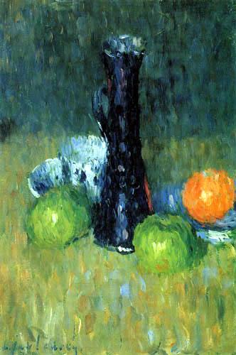 Alexej Georgewitsch Javlenski - Blaue Kanne mit grünen Äpfeln