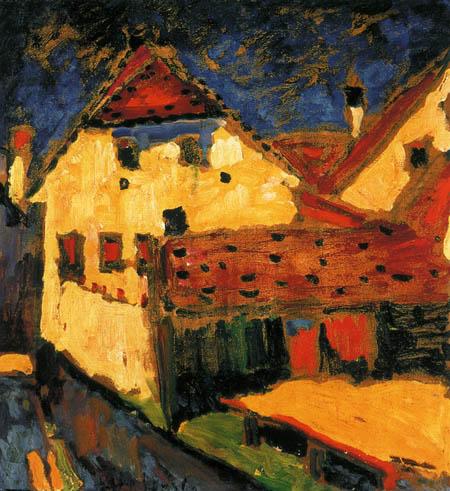 Alexej Georgewitsch Javlenski - Gelbe Häuser
