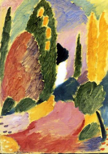 Alexej von Jawlensky - Große Variation, Der Pfingstmorgen