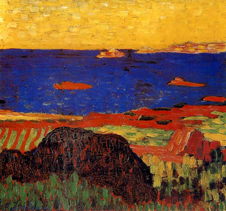 Alexej Georgewitsch Javlenski - Mediterranean Coast