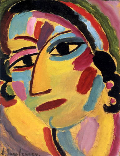 Alexej Georgewitsch Javlenski - Mystical Head, Galca