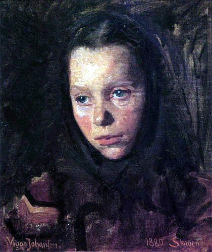 Viggo Johansen - Marie Larsen de Skagen