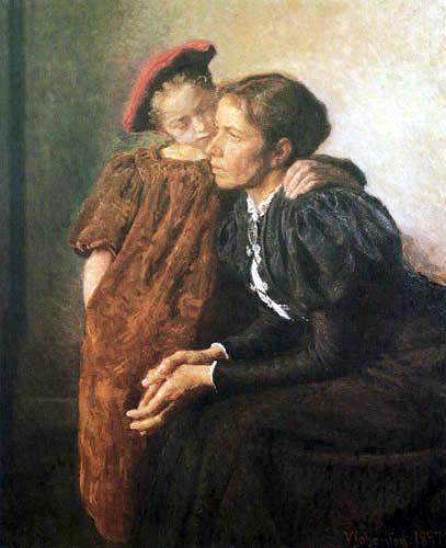 Viggo Johansen - Nanna and their Mother