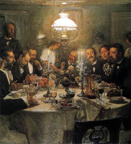 Viggo Johansen - Réunion des peintres