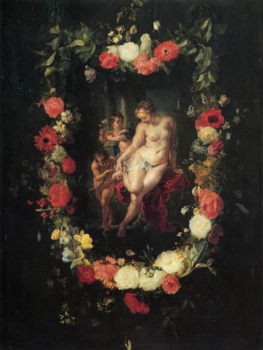 Jacob Jordaens - Geburt der roten Rose