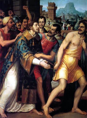 Vicente Juan Macip (Juan de) Juanes - Das Martyrium des hl. Stephanus