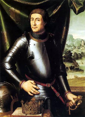 Vicente Juan Macip (Juan de) Juanes - Alfons the Magnanimous