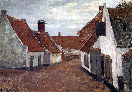 Graf Leopold von Kalckreuth - Village route in Zandvoort