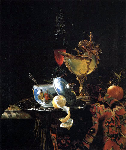 Willem Kalf - Still Life with a Cup