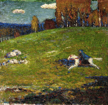 Wassily Wassilyevich Kandinsky - The Blue Rider
