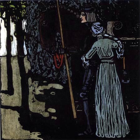 Wassily Wassilyevich Kandinsky - Goodbye, Great Version