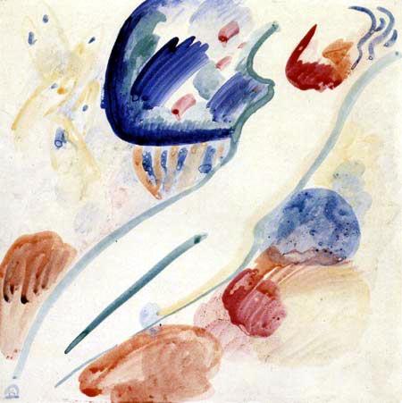Wassily Kandinsky - Akt