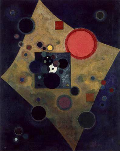 Wassily Kandinsky - Akzent in Rosa