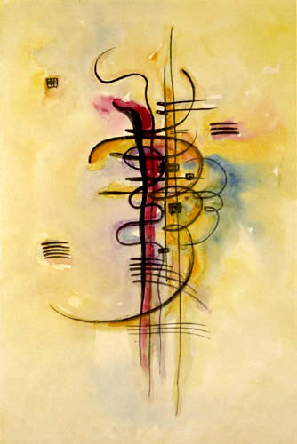 Wassily Kandinsky - Aquarell 326