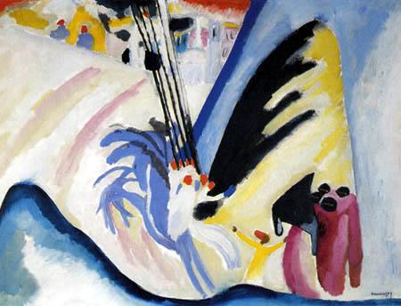 Wassily Kandinsky - Araber II
