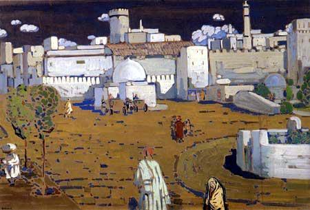 Wassily Wassilyevich Kandinsky - An Arab City