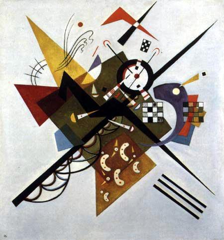 Vasili Kandinski - En Blanco II