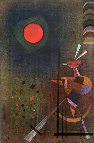 Wassily Kandinsky - Aufleuchten