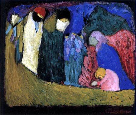 Wassily Wassilyevich Kandinsky - Encounter