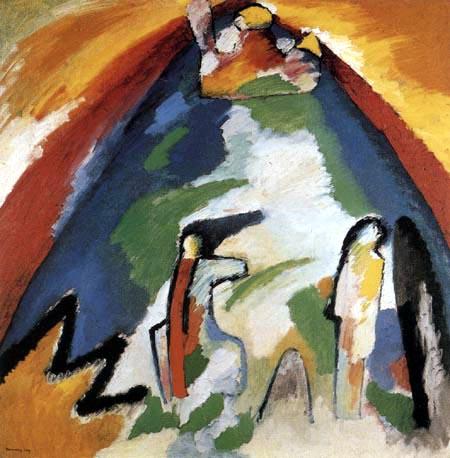 Wassily Kandinsky - Berg
