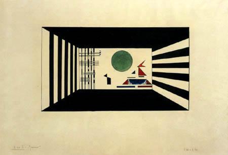 Wassily Kandinsky - Bild II, Gnomus