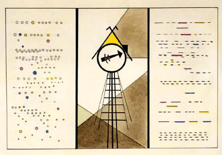 Wassily Kandinsky - Bild XV, Die Hütte der Baba Jaga