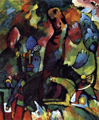 Wassily Kandinsky - Bild mit Bogenschütze