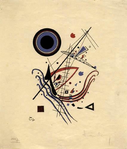 Wassily Kandinsky - Blau