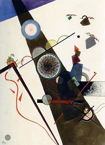 Wassily Kandinsky - Brauner Strahl