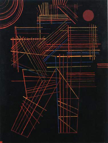 Wassily Wassilyevich Kandinsky - Colored sticks