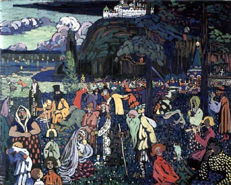 Wassily Wassilyevich Kandinsky - The colorful life