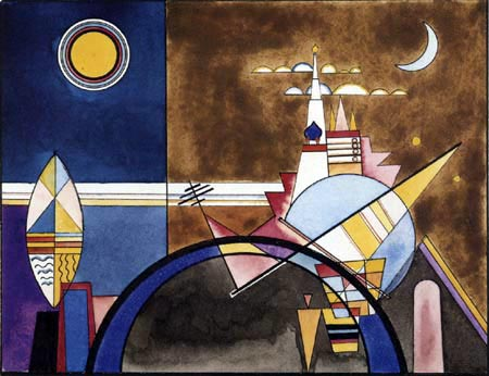 Wassily Wassilyevich Kandinsky - Picture XVI, The Great Gate of Kiev